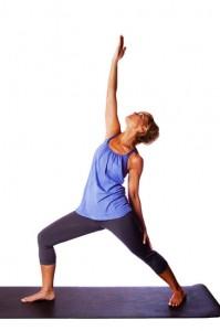 Relaxing Yoga exercise